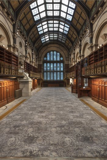 Interior image of Wood Hall